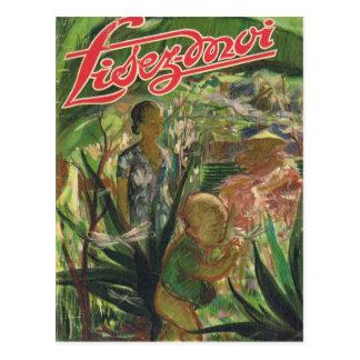 Cover, Lisez-Moi, Oriental Adventure Postcard