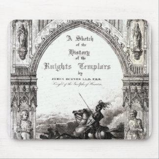 Cover of 'A Sketch of History the Knights Mouse Pad