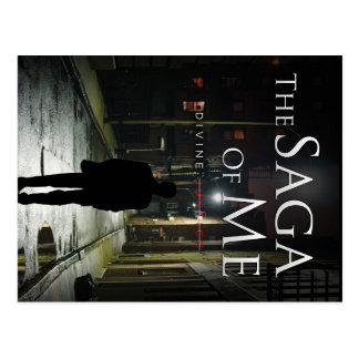 "Cover of ""Divine Justice"" by Joel Puga Postcard"