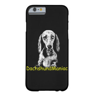 Cover of iPhone 6 Barely There DachshundManiac