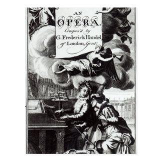 Cover of Sheet Music for Julius Caesar Postcard