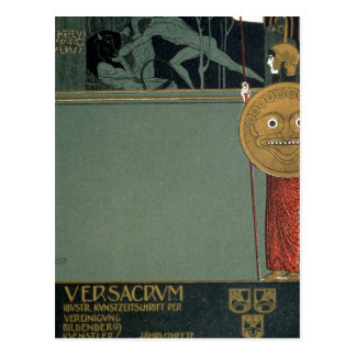Cover of Ver Sacrum the journal of the Postcard