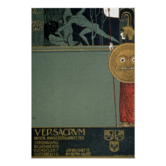 Cover of Ver Sacrum the journal of the Poster