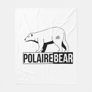 "Cover ""Polar Bear "" Fleece Blanket"