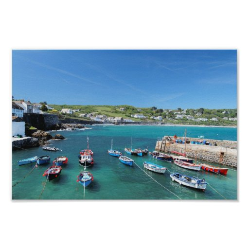 Coverack Poster