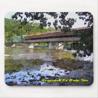 Covered Bridge 1 Mouse Pad