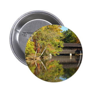 Covered Bridge at Stone Mountain Buttons