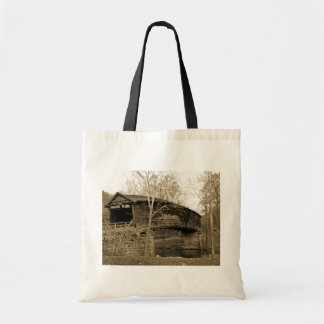Covered Bridge Tote Bags