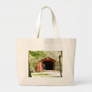 Covered Bridge Canvas Bag
