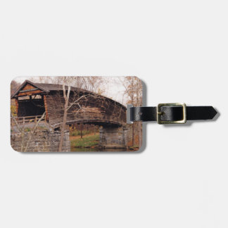Covered Bridge Bag Tag