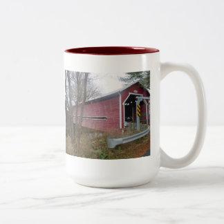 Covered Bridge, Brigham, Quebec - Mug