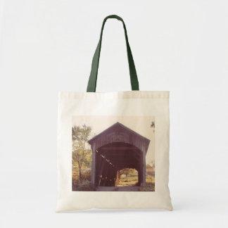Covered Bridge Budget Tote Bag