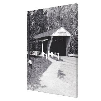 Covered Bridge Canvas Prints