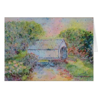 Covered Bridge Card