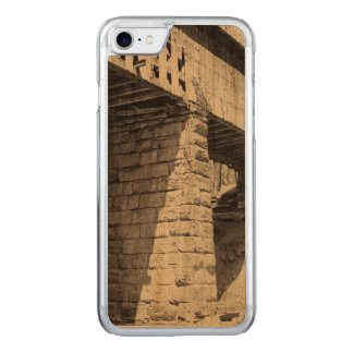 Covered Bridge Carved iPhone 7 Case