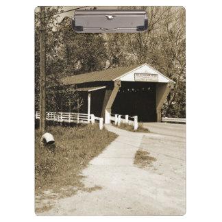 Covered Bridge Clipboards