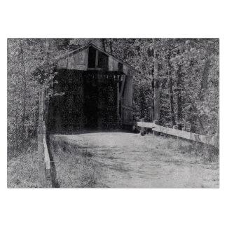 Covered Bridge Cutting Board