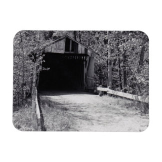 Covered Bridge Rectangle Magnets