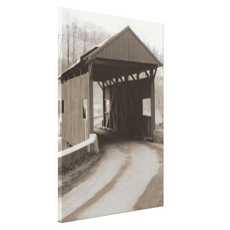 Covered Bridge Gallery Wrap Canvas