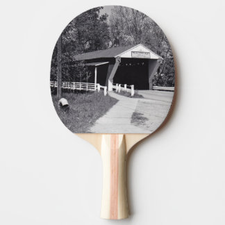 Covered Bridge Ping Pong Paddle