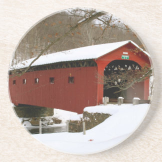 Covered Bridge in Arlington, VT Coaster