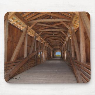Covered Bridge in Indiana Mousepad