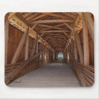 Covered Bridge in Indiana Mousepad