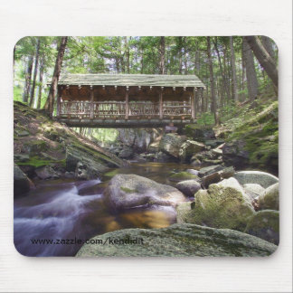 Covered Bridge in the Adirondacks Mouse Pad