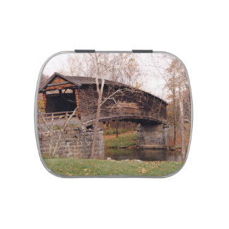 Covered Bridge Jelly Belly Tins