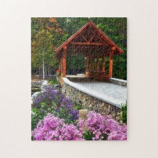 Covered Bridge Jigsaw Puzzle