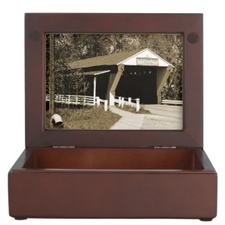 Covered Bridge Keepsake Boxes