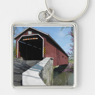 Covered Bridge - keychain
