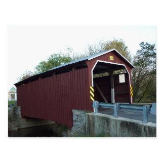 Covered Bridge. Lancaster County, PA Postcard