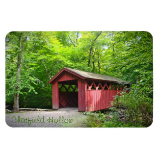 Covered Bridge Large Magnet
