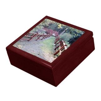 Covered Bridge Large Square Gift Box