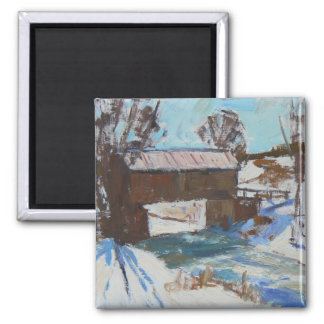 """Covered Bridge"" Magnet"