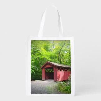 Covered Bridge Market Bag