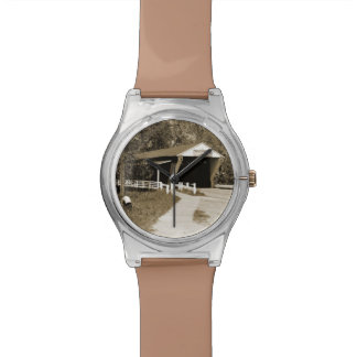 Covered  Bridge Wristwatch