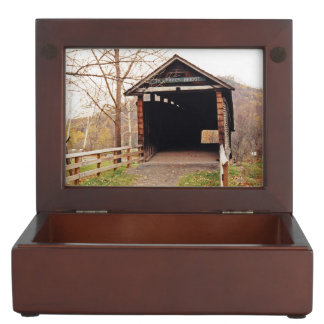 Covered Bridge Memory Box