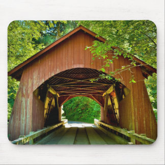 Covered Bridge Mouse Pads
