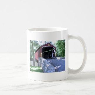 Covered Bridge Basic White Mug