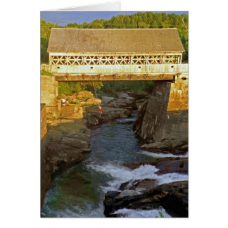 Covered Bridge Note Card