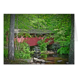 Covered Bridge Notecard Cards