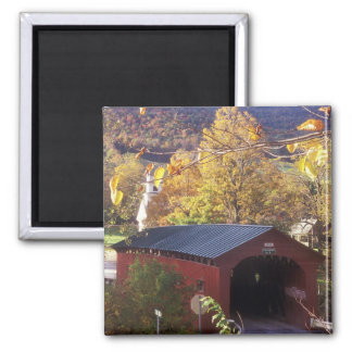 Covered Bridge on Common West Arlington Vermont Magnet