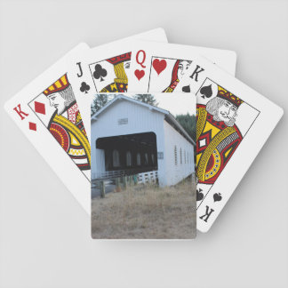 Covered Bridge Photo Playing cards