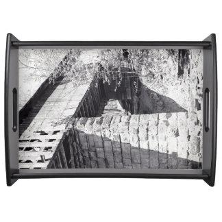 Covered Bridge Food Tray