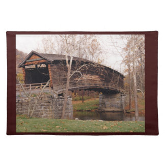 Covered Bridge Place Mat