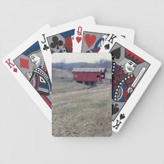 Covered Bridge Poker Cards