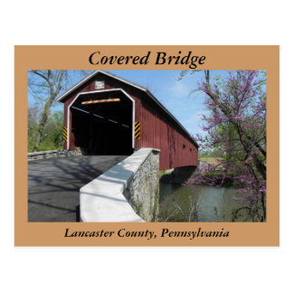 Covered Bridge - Postcard