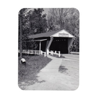 Covered Bridge Rectangular Photo Magnet